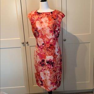 Floral Chaps Dress